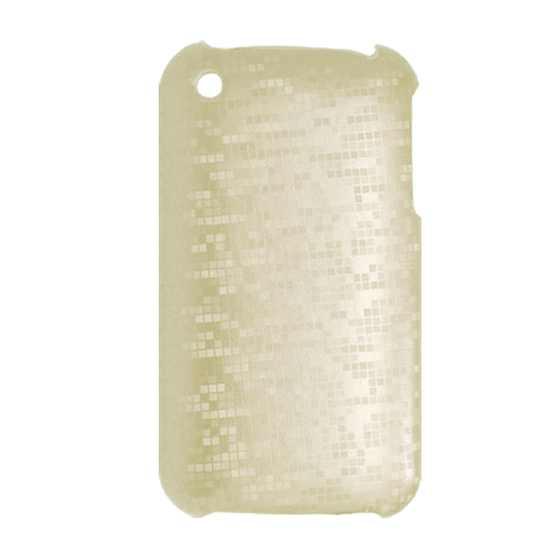 Reflective Checkered Pattern Plastic Case for iPhone 3G