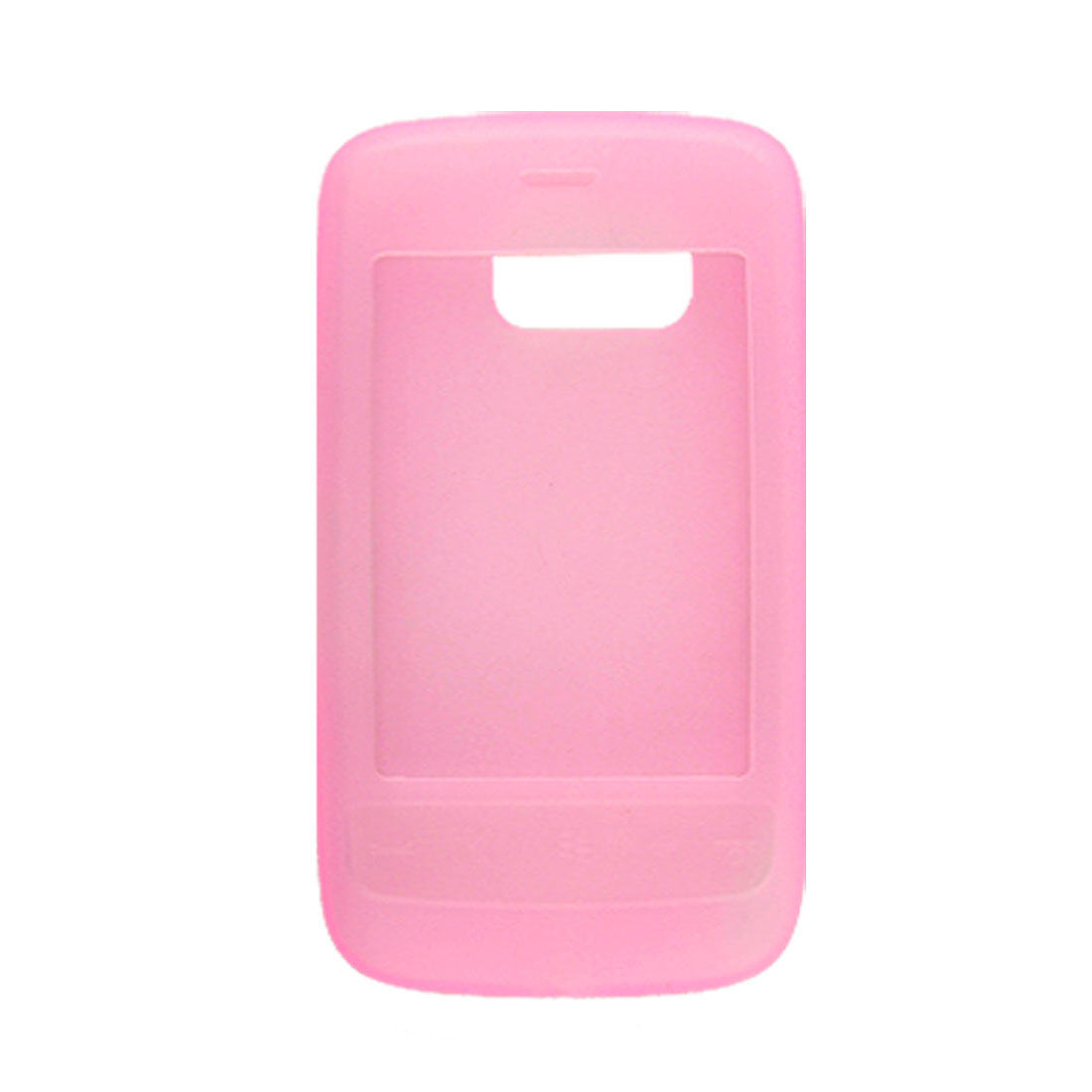 Pink Case Silicone Skin Cover for HTC Touch 2/T3333