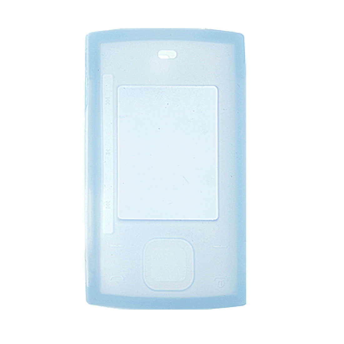 Baby Blue Silicone Soft Skin Protective Case for Nokia X3