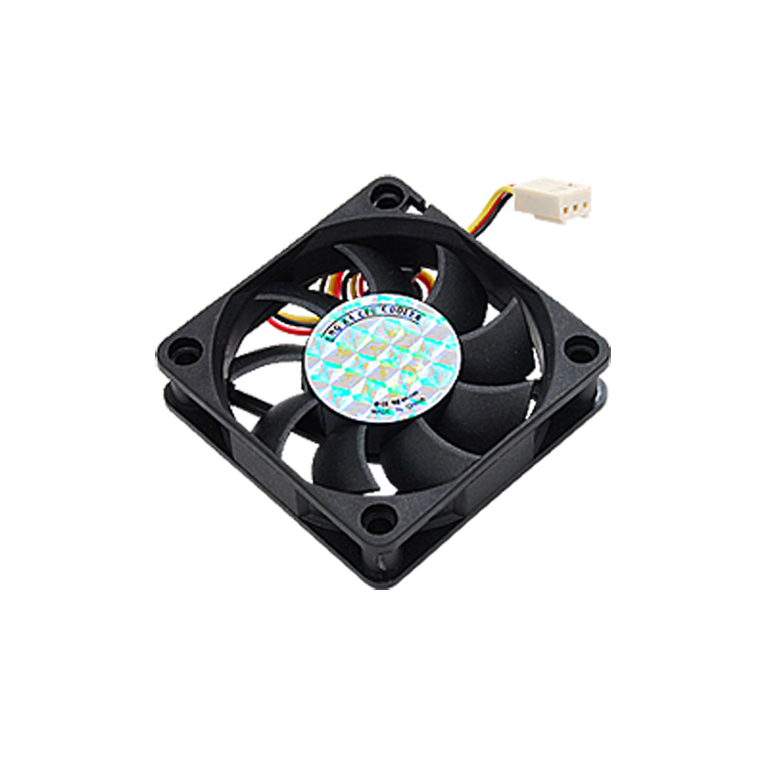 New 70mm PC Chassis Computer Case 3 Terminal Fan Cooling Cooler