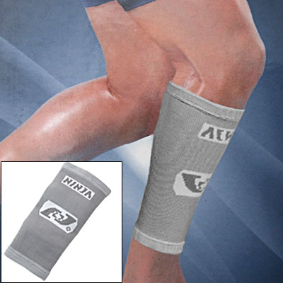 Size L Grey Elastic Brace Sports Soft Crus Support Protector