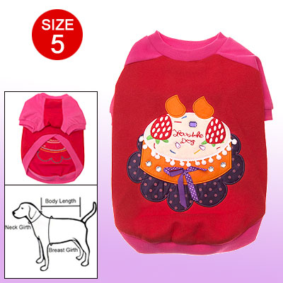 Lovely Dog Pet Doggie Beautiful Size 5 Clothes Apparel