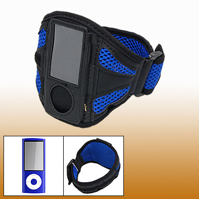 Blue Black Sports Armband Case for iPod Nano 5th Gen