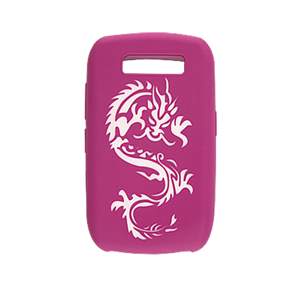 Dragon Style Amaranth Silicone Case Skin for BlackBerry 8900