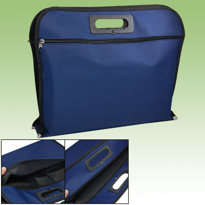 "10.2"" Blue Nylon Laptop Carrying Handbag"