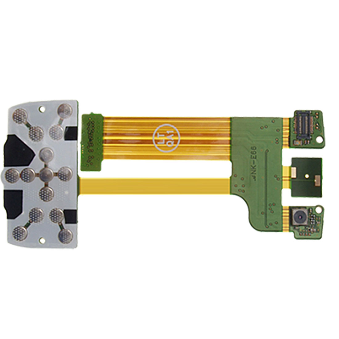 Replacement Flex Cable Ribbon for Nokia E66 Mobile