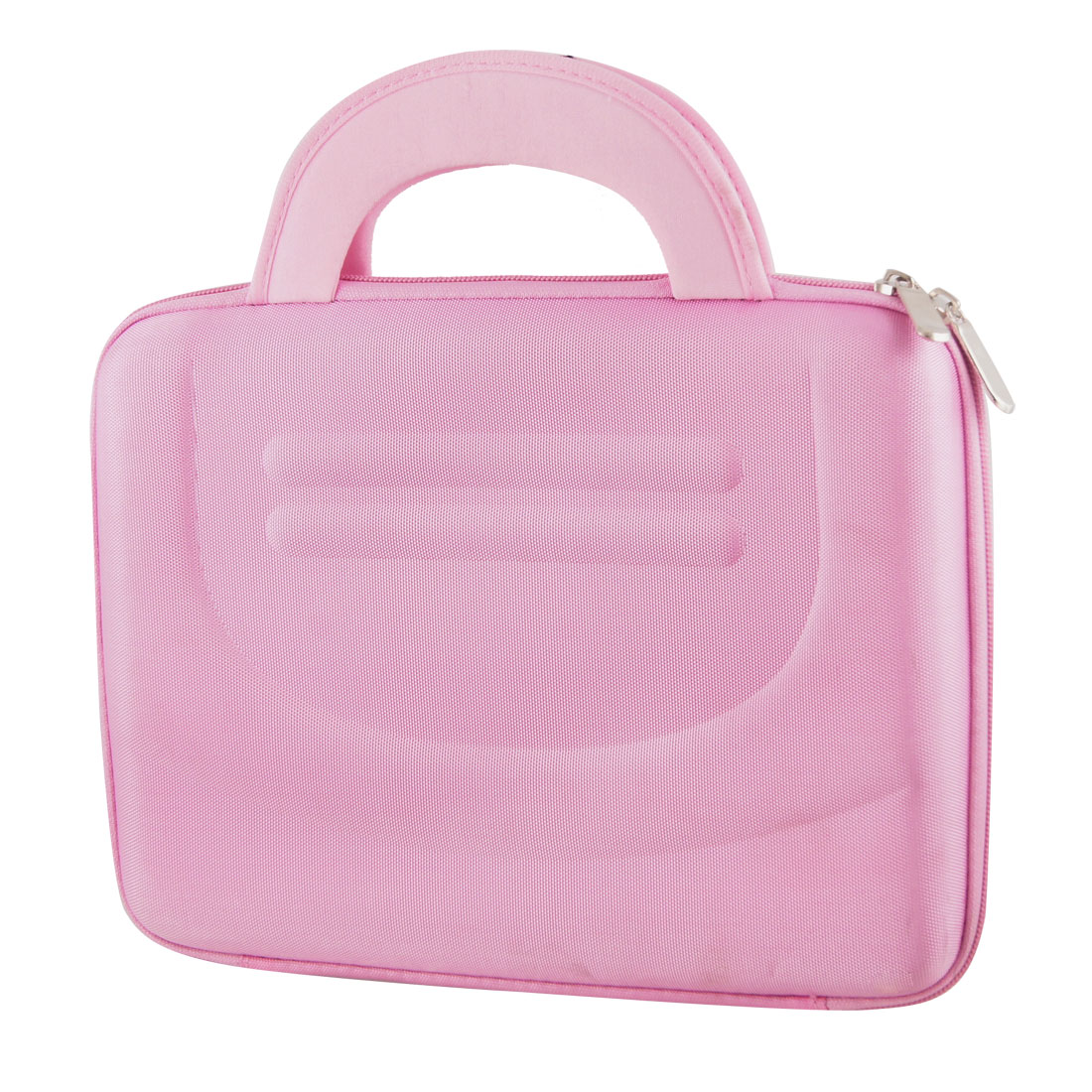 "10"" 10.1"" 10.2"" Pink Dual Zipper Tablet PC Laptop Sleeve Handbag Case for iPad"