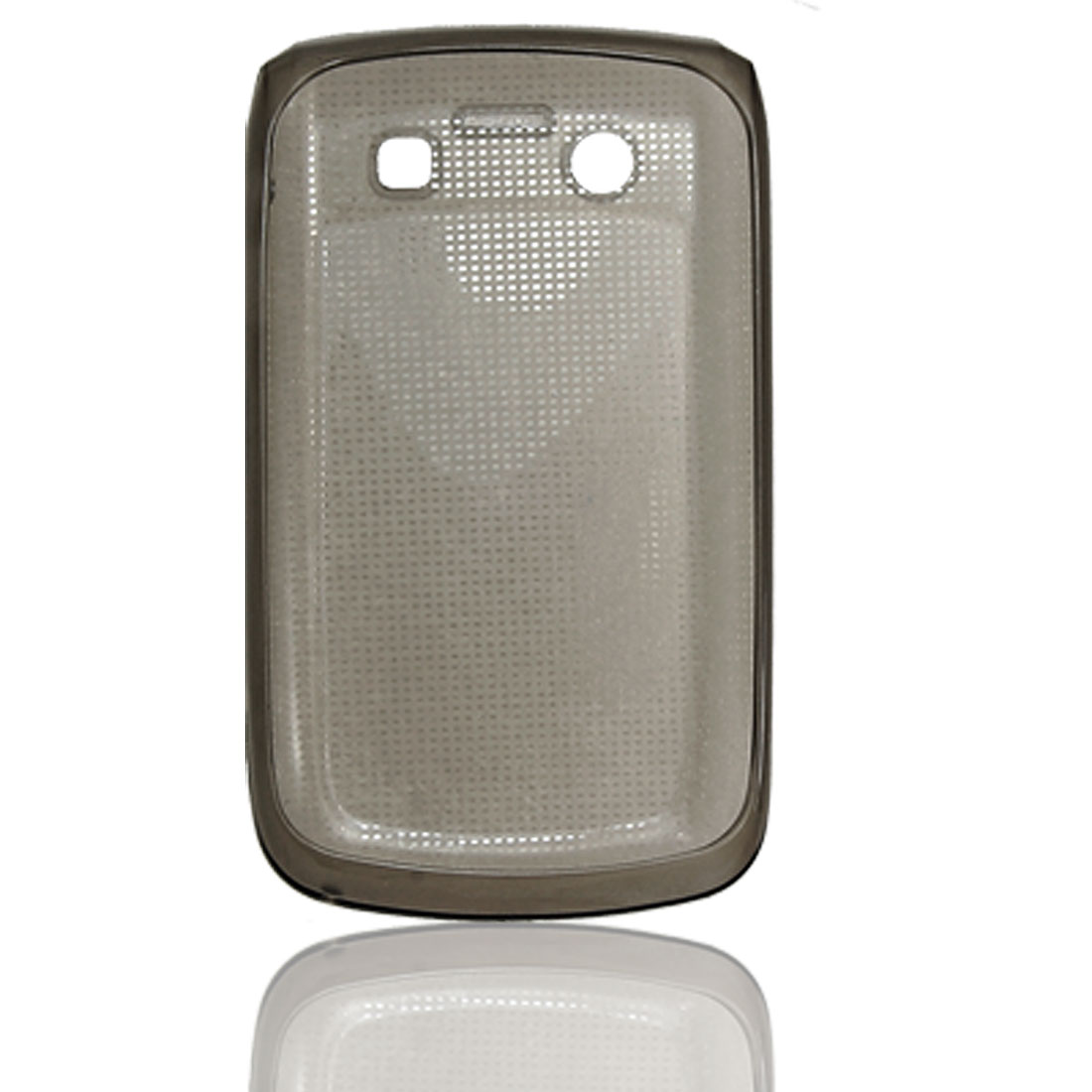 Grey Soft Plastic Case Cover Protector for Blackberry 9700