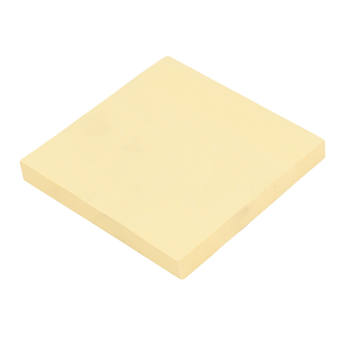 75 x 75mm Self Stick Paper Adhesive Sticky Memo Notes Yellow 100 Sheets