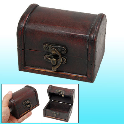 Generous Elegant Mini Wooden Gadgets Holder Jewelry Box