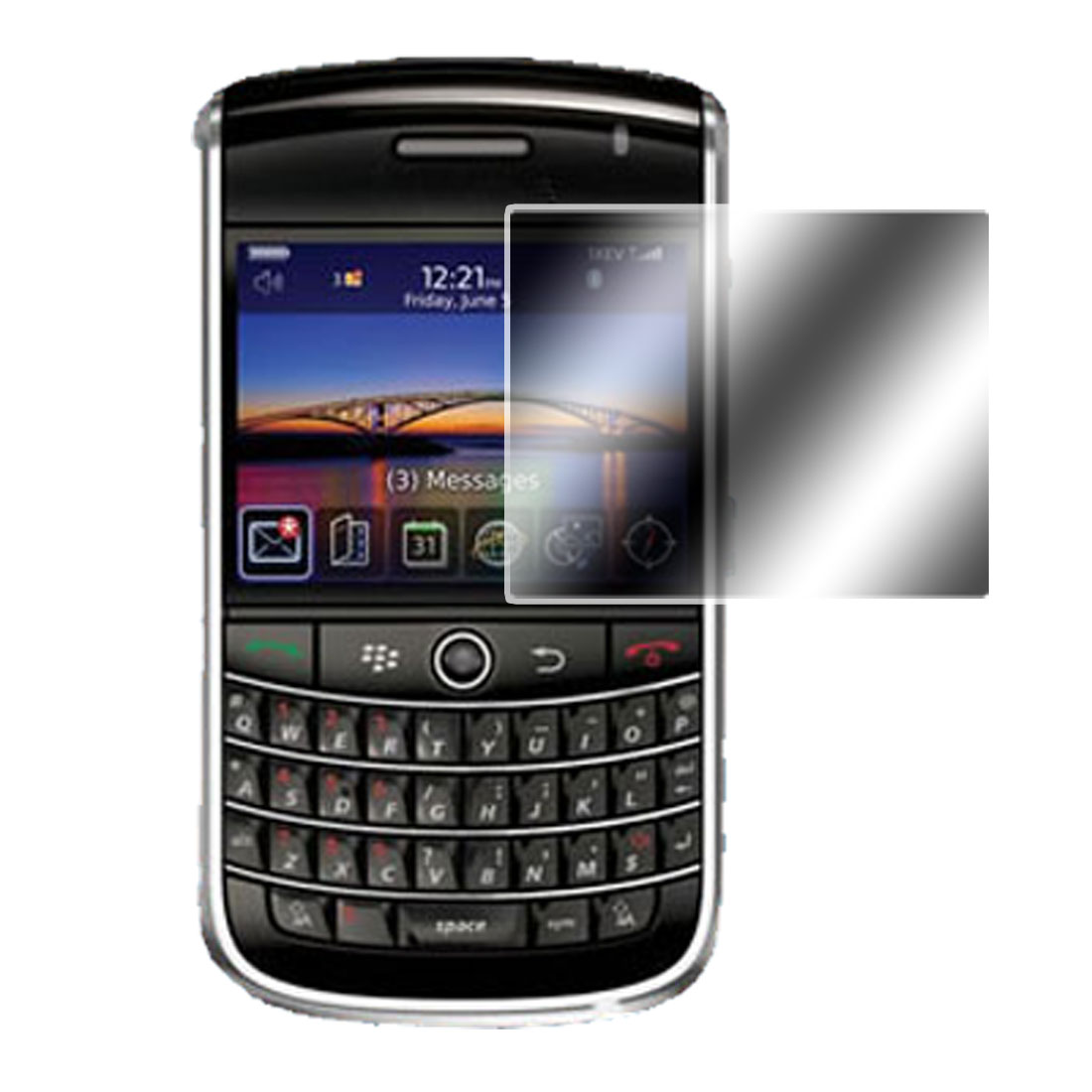 Protective Screen Protector Guard for Blackberry 9630 Transparent