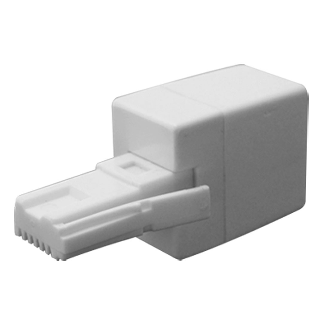 RJ11 Socket to UK BT Telephone Adapter Converter 2 Pcs