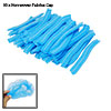 90 Pcs Blue Non-woven Fabrics Pleated Anti Dust Disposable Cap