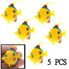 5 PCS Aquarium Plastic Ocean Fish Decoration for Fish Tank Decor