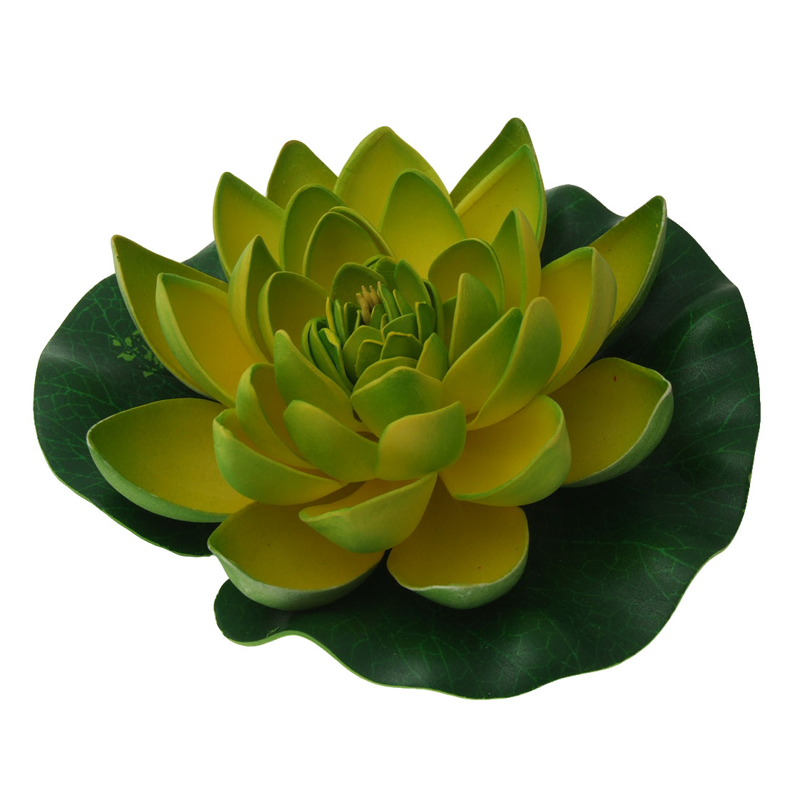 Foam Lotus Flower Decor Ornament for Fish Tank Aquarium