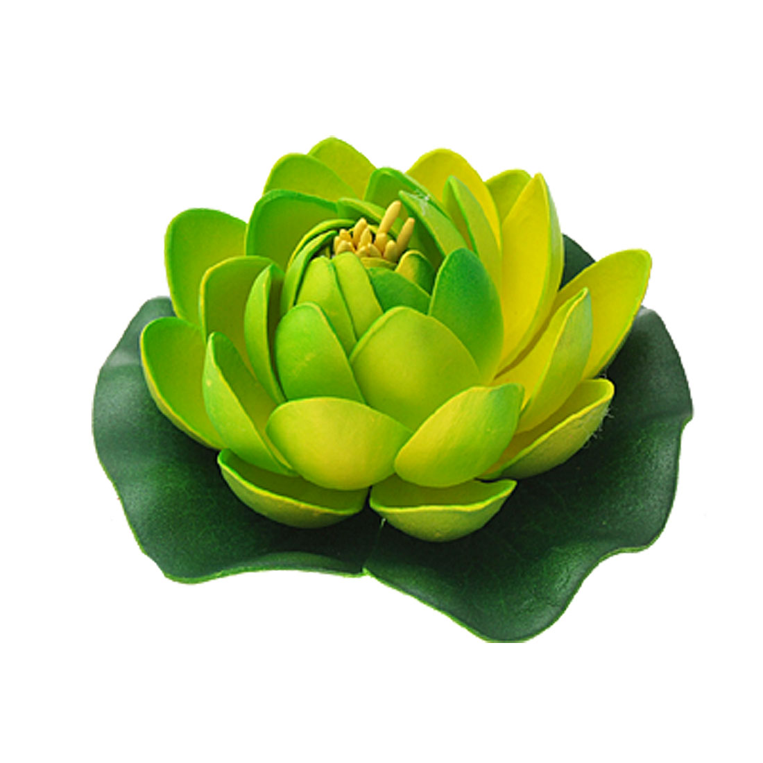 Fish Aquarium Tank Foam Lotus Plant Flower Decoration
