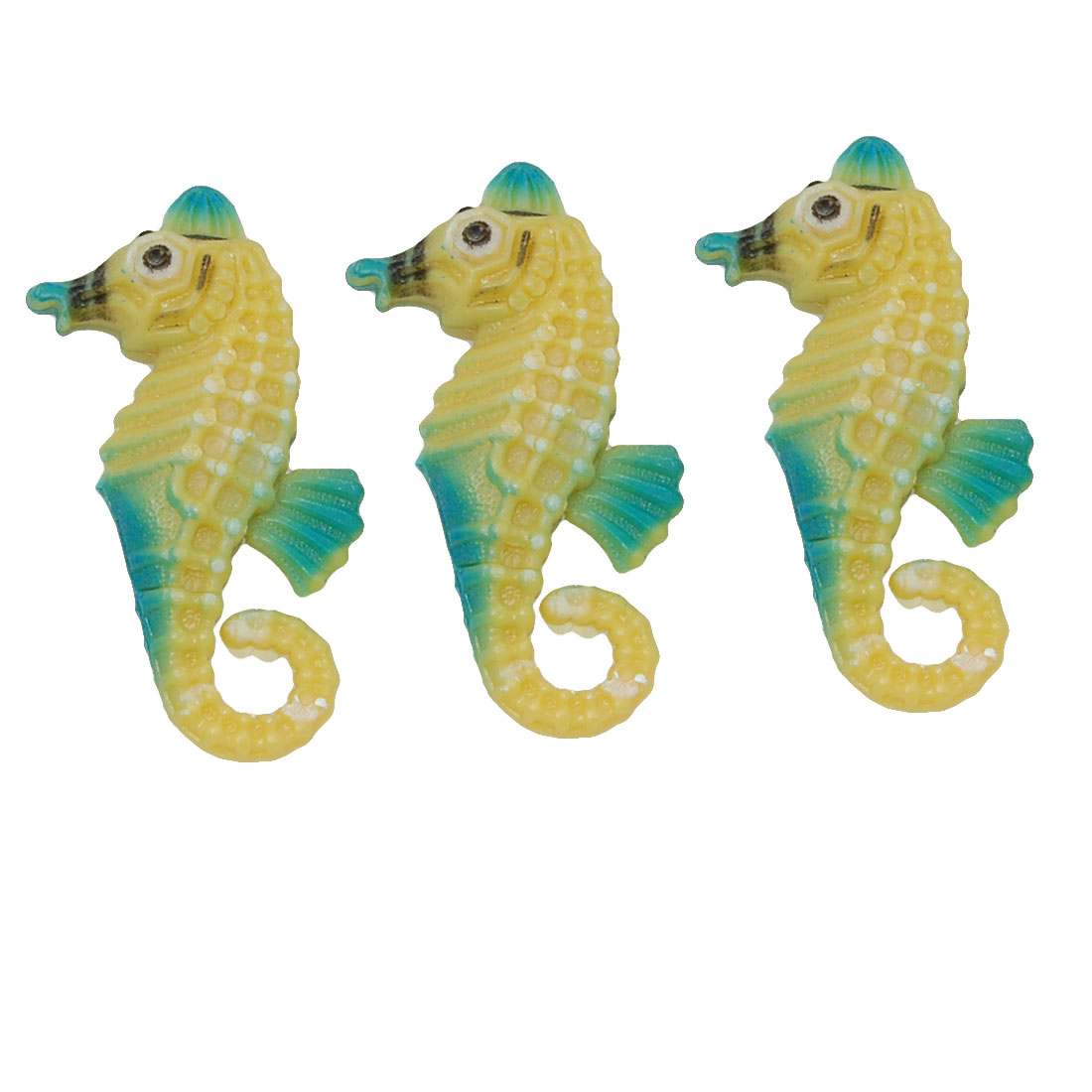 Plastic Floating Sea Horse Fish Tank Aquarium Ornament