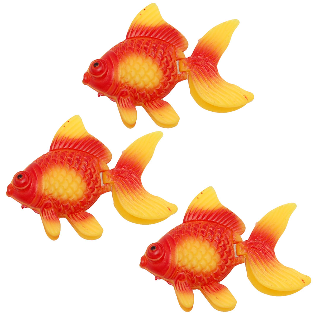 Aquarium Fish Tank Oranment Vividly Goldfish Decor
