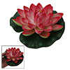 Aquarium Fish Red Floating Lotus Decoration Ornament