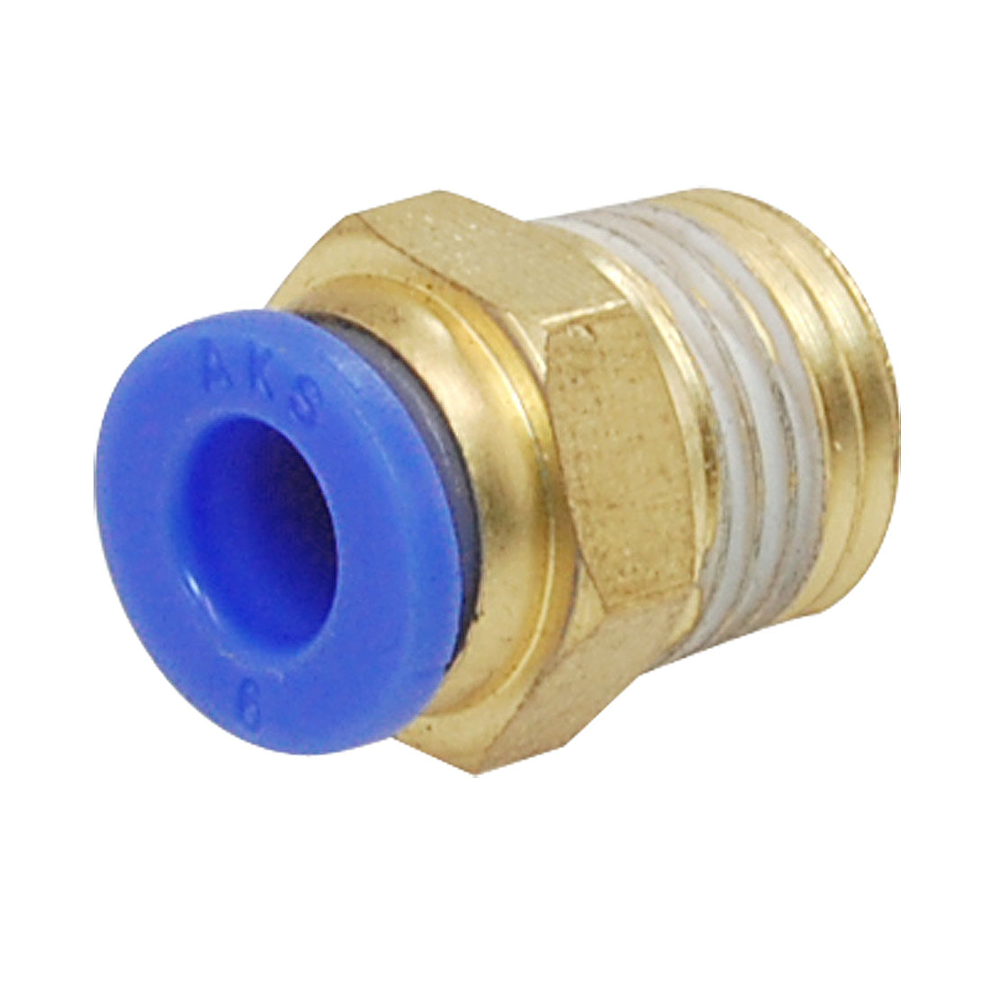 Pneumatic Connector Push In One Touch Straight Fittings 2 Pcs