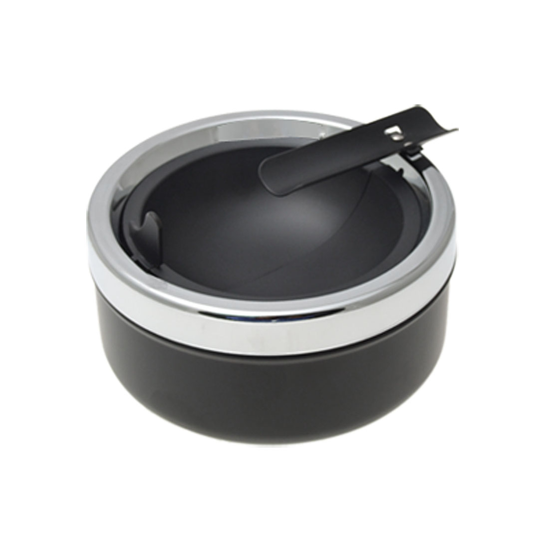 Round Flip Metal Home Office Cigarette Holder Ashtray