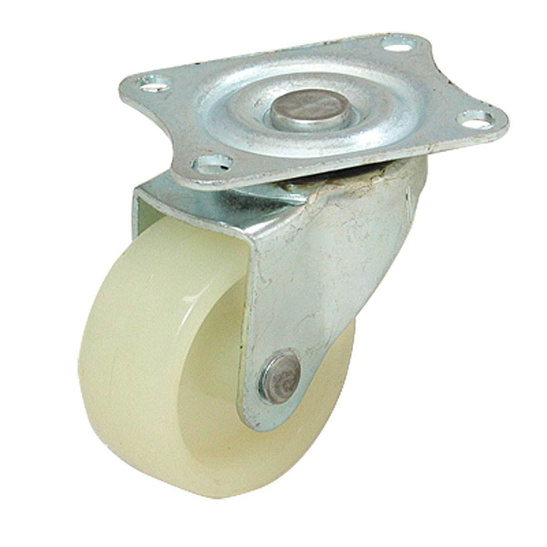 "2"" Flat Full Rotation Caster Replacement Wheel with Swivel Plate"
