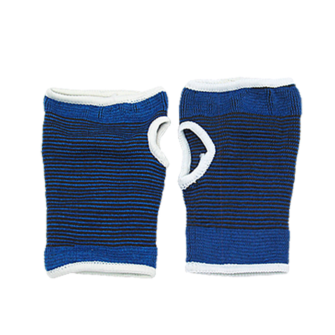 2 PCS Palm Support Sports Hand Elastic Brace Protector Blue