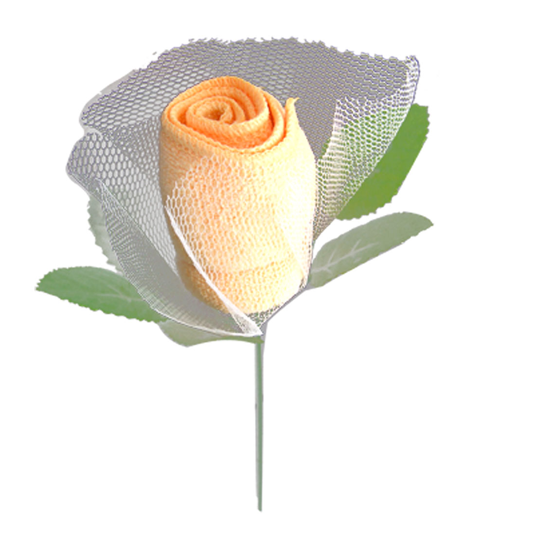 Orange Soft Washing Hand Towel Rose Flower Decor Gift