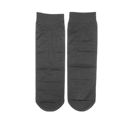 Elastic Stretchy Black 3 Pairs Ankle Socks for Women