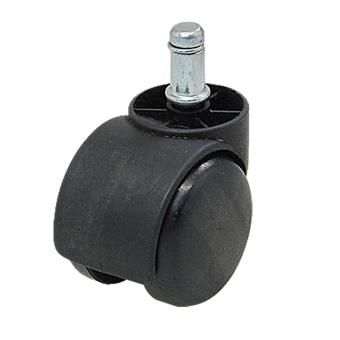 2inch Twin Wheel Chair Casters With Grip Ring Connector Black