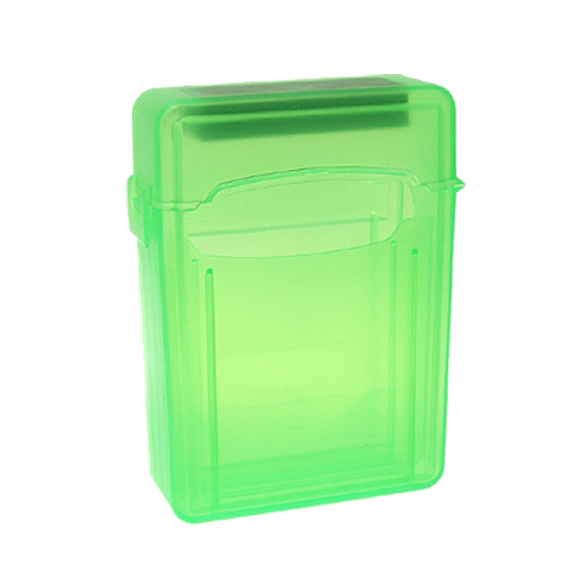Green Plastic 2.5 Inch SATA IDE Hard Disk Drive Case HDD Store Tank Box