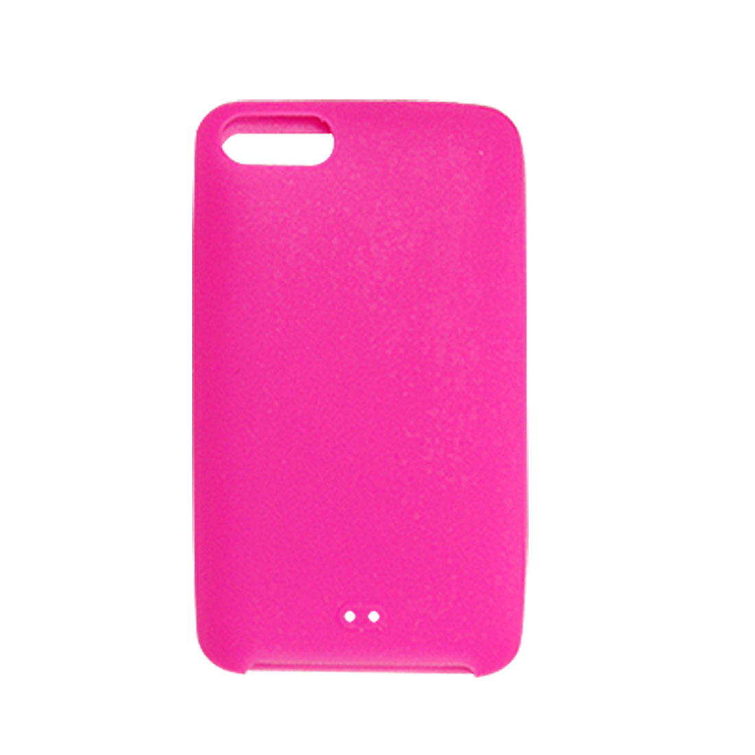 Magenta Silicone Cover Case for iPod Touch 2nd with Screen Guard