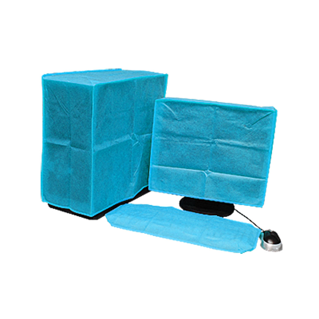 Blue LCD Computer Nonwoven Fabric Dust Cover Cap 17""