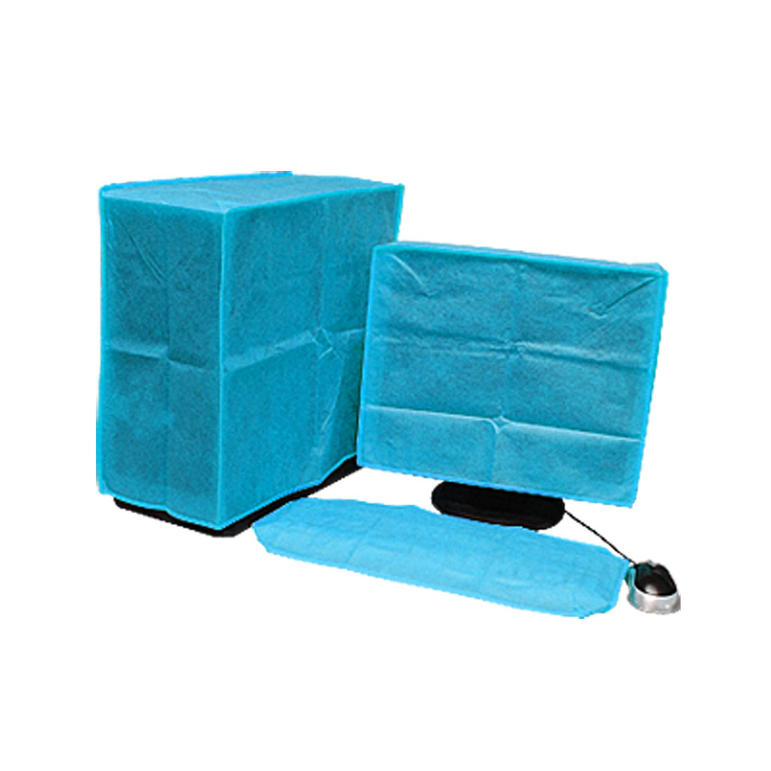 Blue LCD Computer Nonwoven Fabric Dust Cover Cap 22""