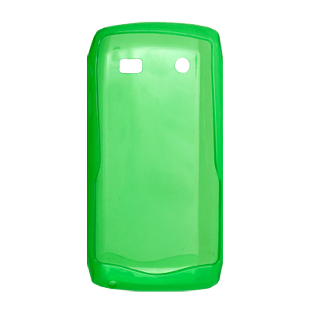 Plastic Case Green Soft Cover Shell for Blackberry 9100