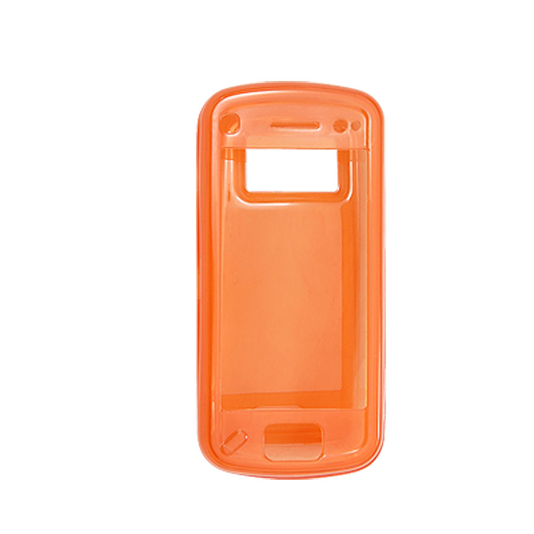 Soft Orange Shell Mobile Case Plastic Cover for Nokia N97