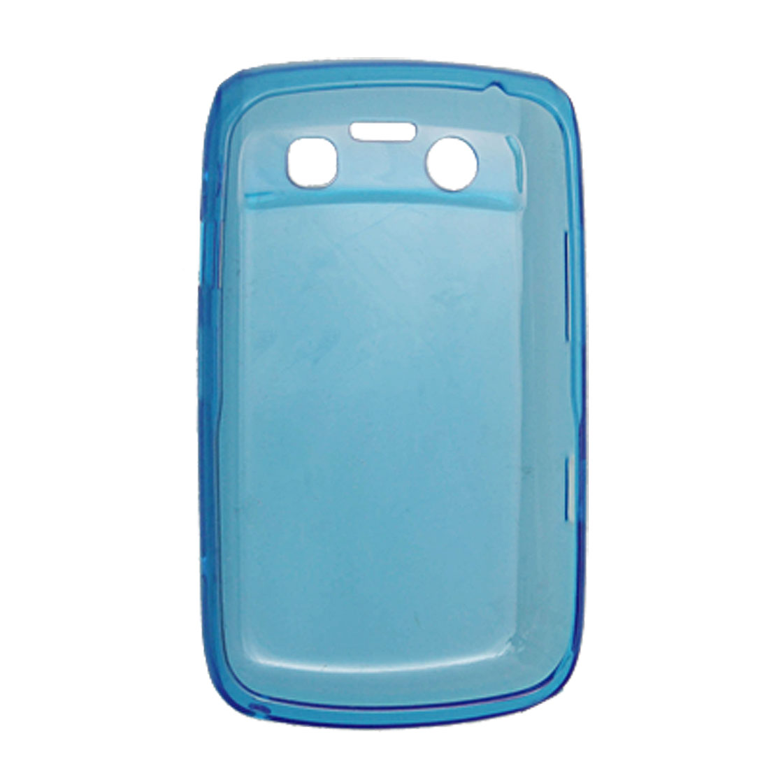 Blue Cover Phone Soft Plastic Cell Case for BlackBerry 9700