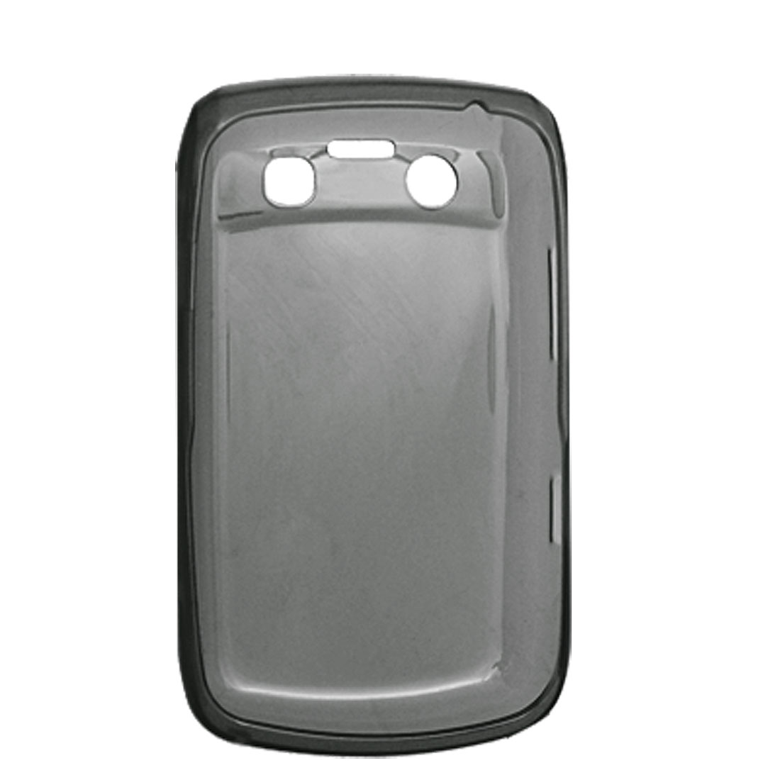 Grey Mobile Soft Plastic Case Cover for BlackBerry 9700