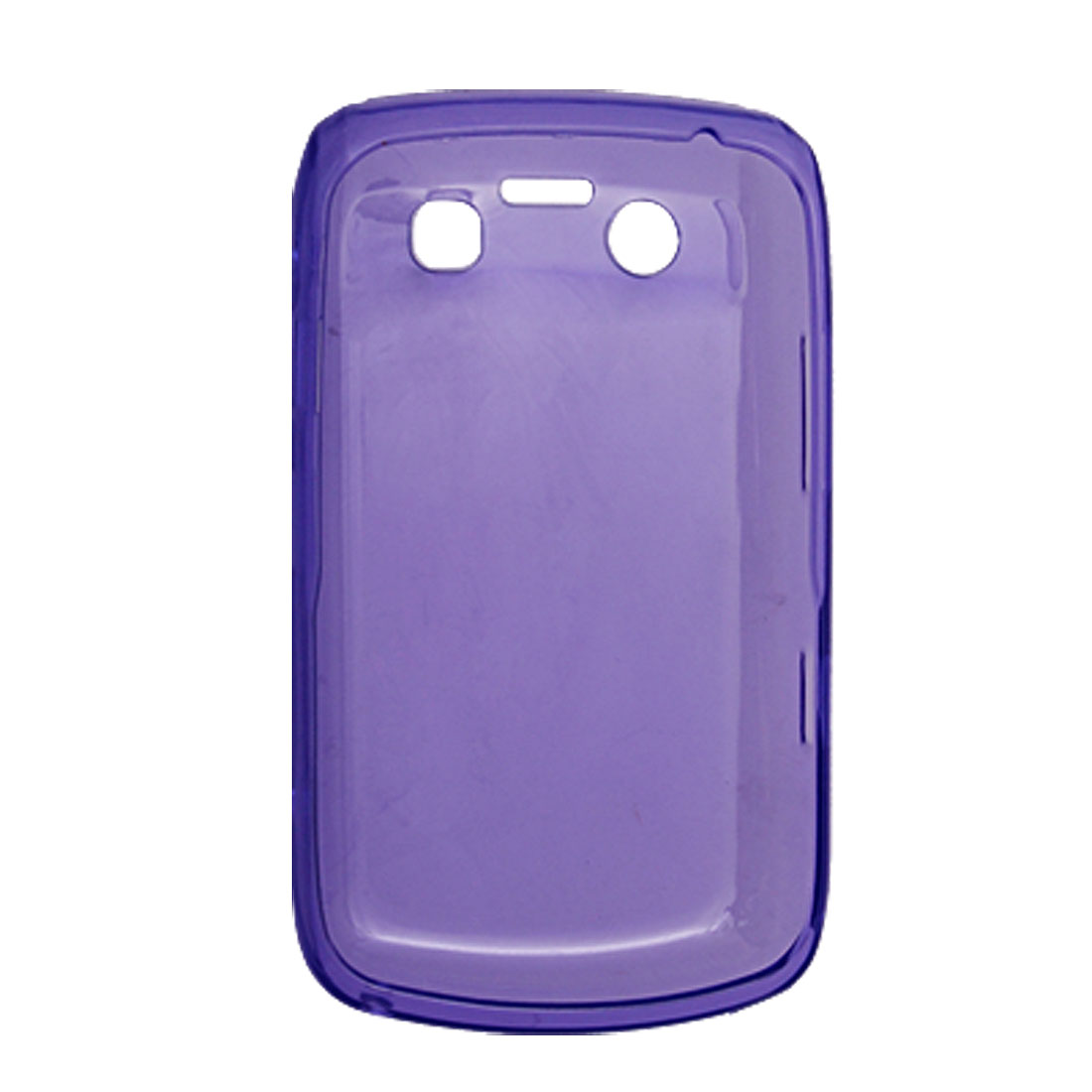 Purple Phone Soft Plastic Case Shell for BlackBerry 9700