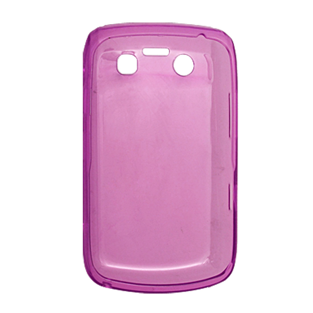 Pink Phone Soft Case Plastic Shell for BlackBerry 9700