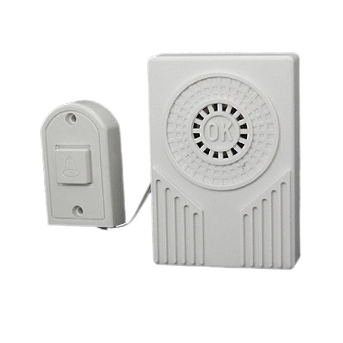 Battery Powered Electronic Plastic Doorbell Chime Door Bell