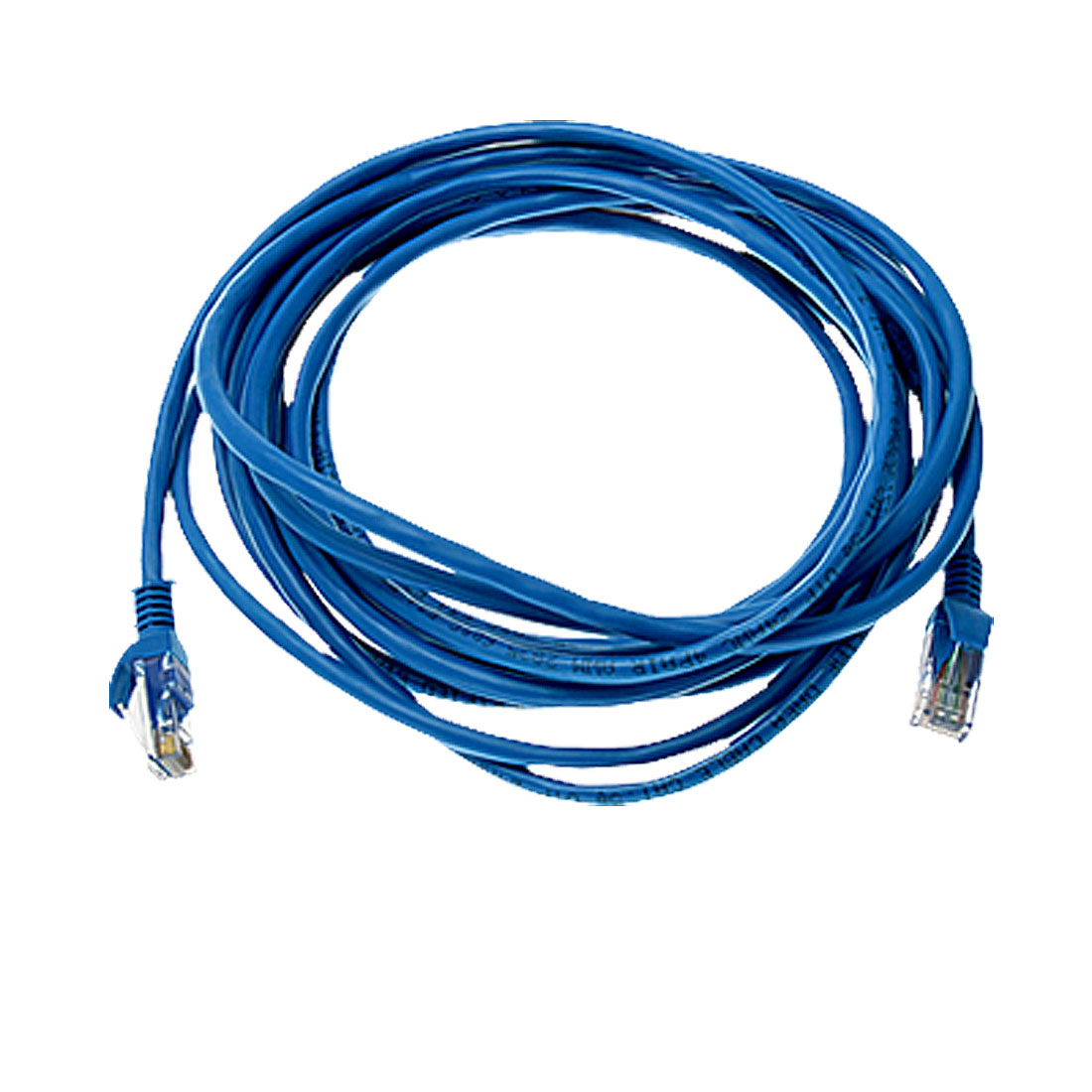 16 ft Feet 4.9M RJ45 CAT5E LAN Network Cable Blue for Ethernet Router Switch