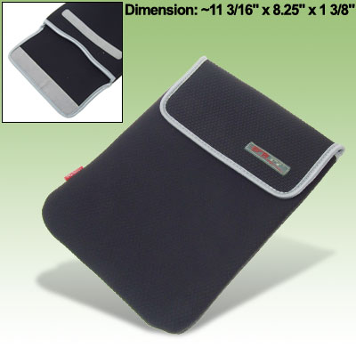 Black Soft Carrying Sleeve for 12 inch Notebook