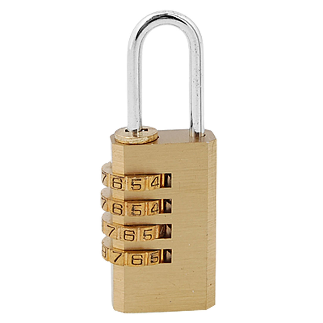 4 Digit Bag Travel Lock Resettable Combination Padlock