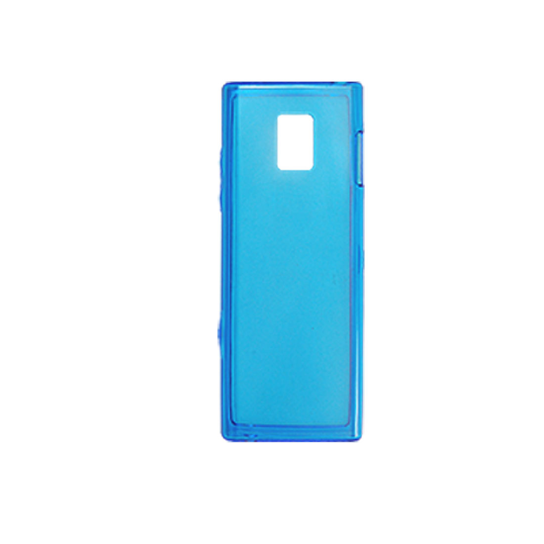 Soft Plastic Blue Case Shell Cover Protector for LG BL40e