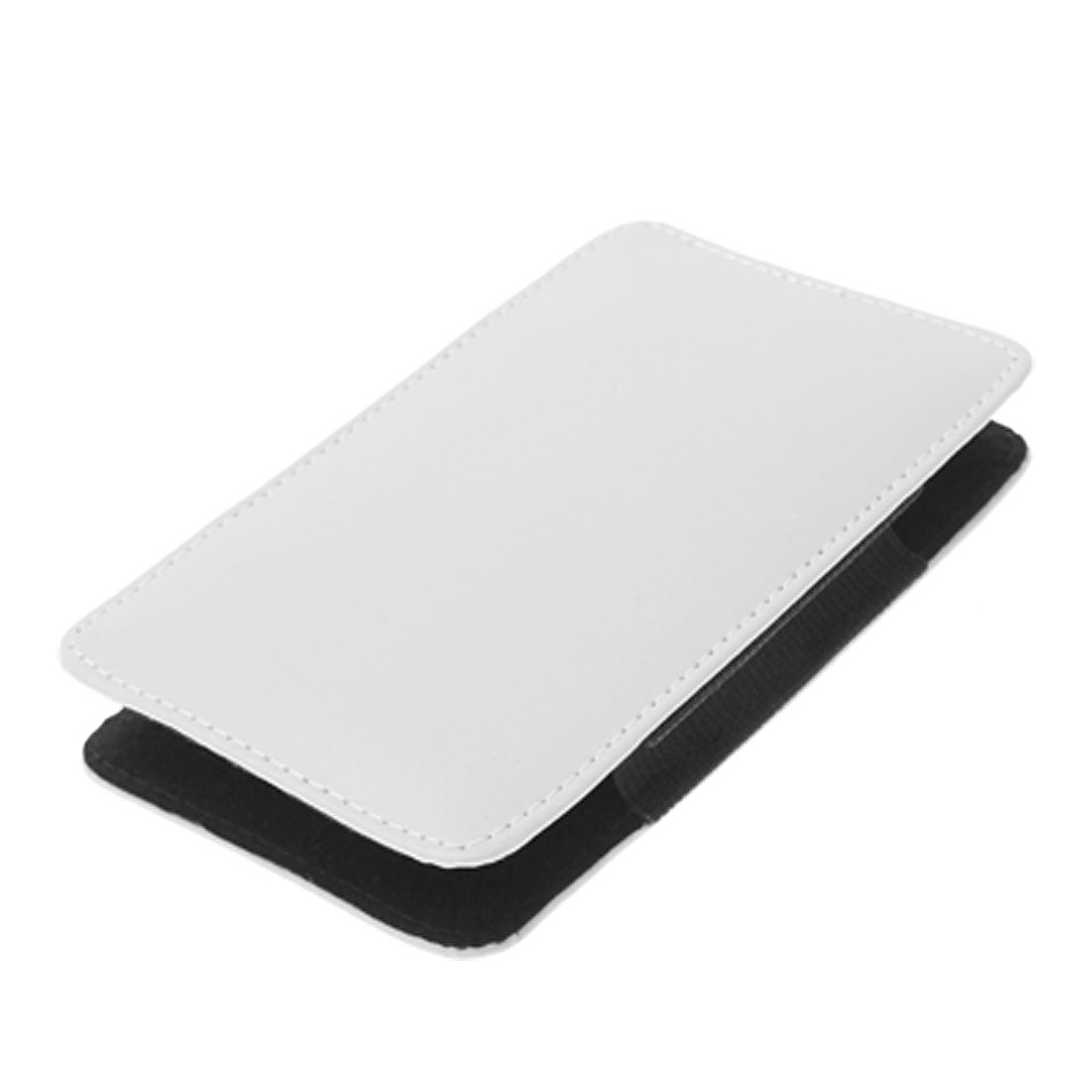 2.5 Inch HDD Hard Drive Disk Faux Leather Case Pouch White