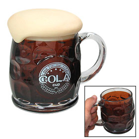 Covered Beer Cola Foam Plastic Cup