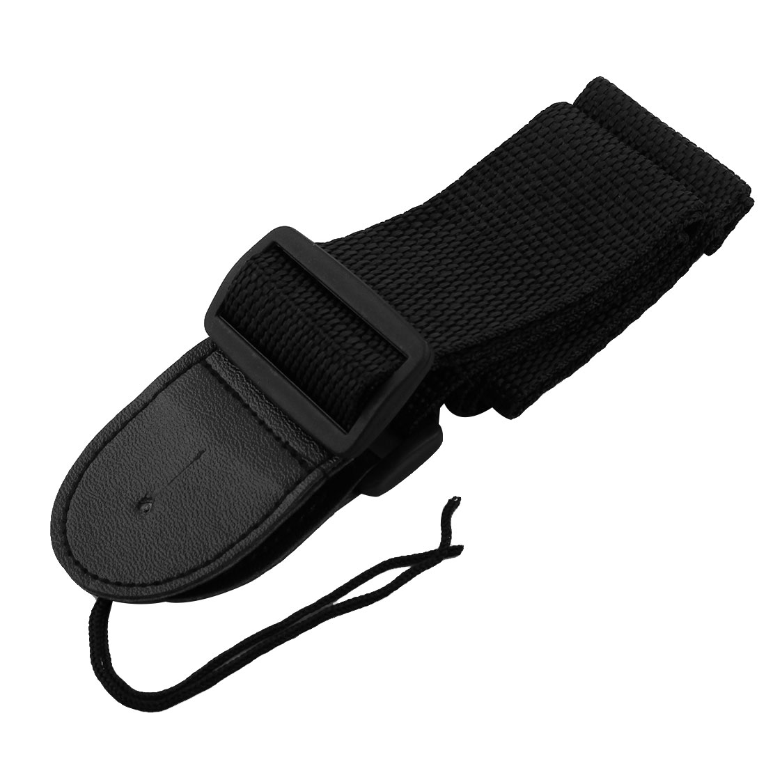 Comfort Blk Nylon Guitar Shoulder Band Strap Adjustable