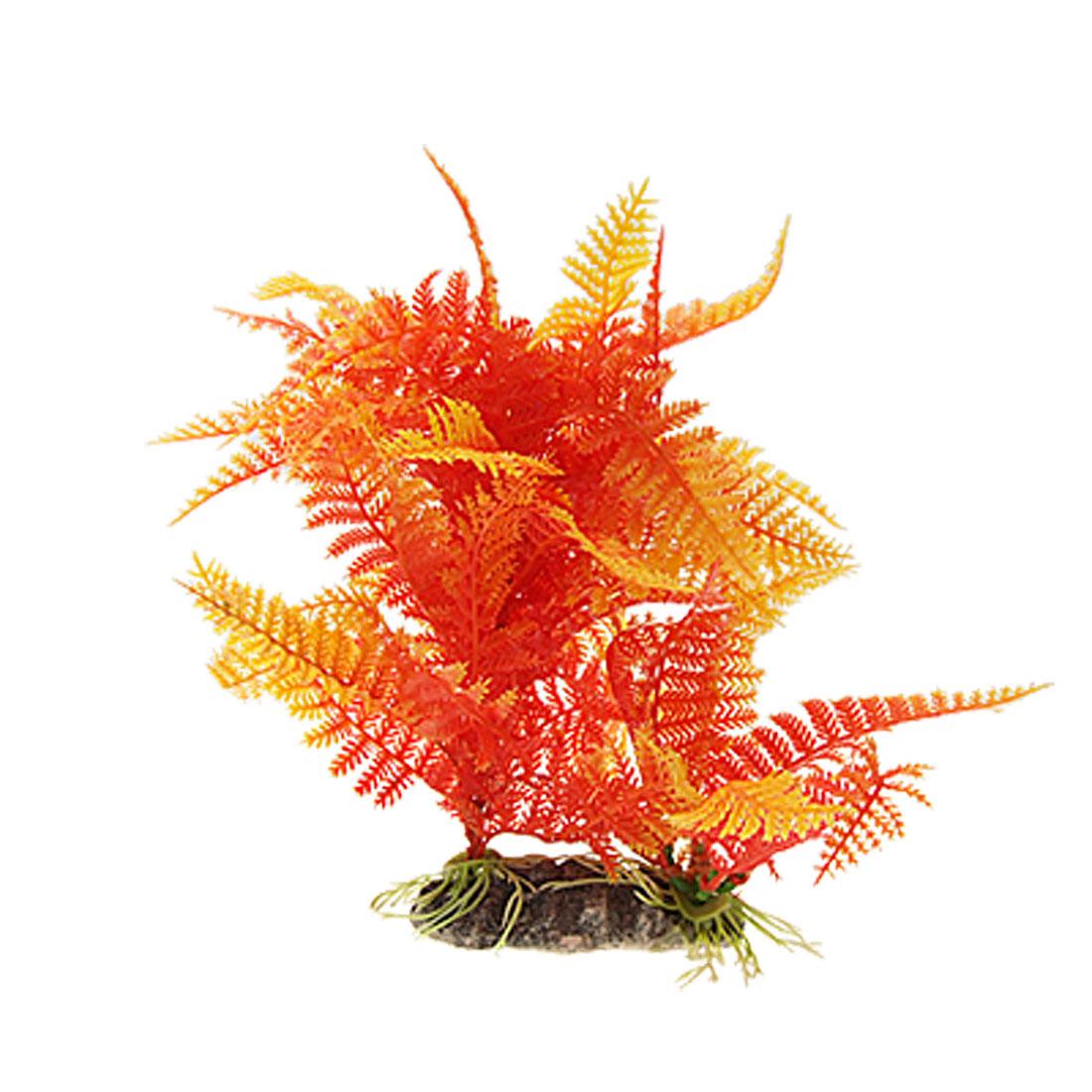 Lifelike Fish Tank Underwater Plastic Aquarium Decor Plant