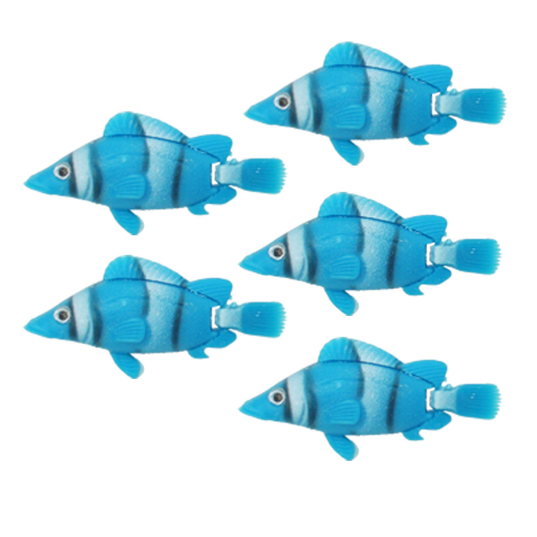 5pcs Aquarium Tank Plastic Floating Fish Ornament